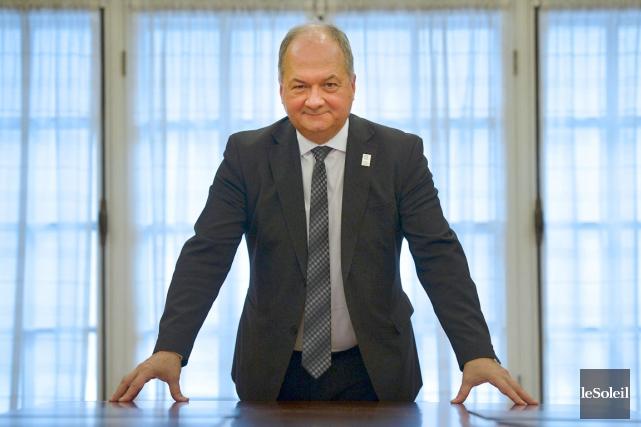 L'objectif d'Alain Aubut, le nouveau président de la... (Le Soleil, Yan Doublet)