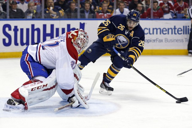 Matt Moulson a scellé l'issue du match en... (Photo USA Today Sports)