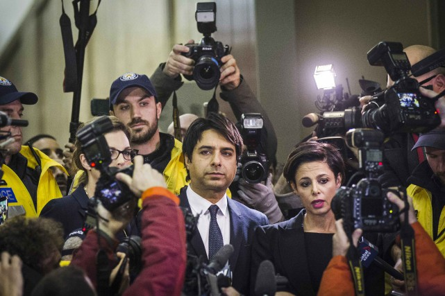 L'ancien animateur de l'émission phare Q, Jian Ghomeshi, a été congédié... (Photo Mark Blinch, Reuters)