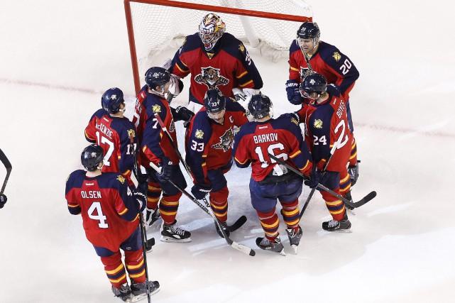 Les Panthers ont enregistré un sommet de 46... (Photo Joel Auerbach, AP)
