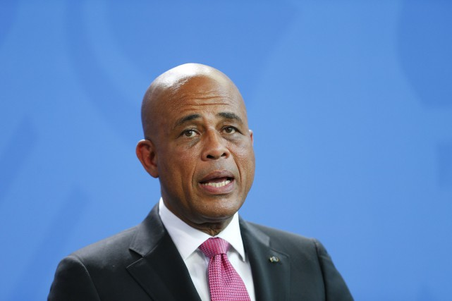 Le président haïtien, Michel Martelly... (Photo Hannibal Hanschke, archives Reuters)