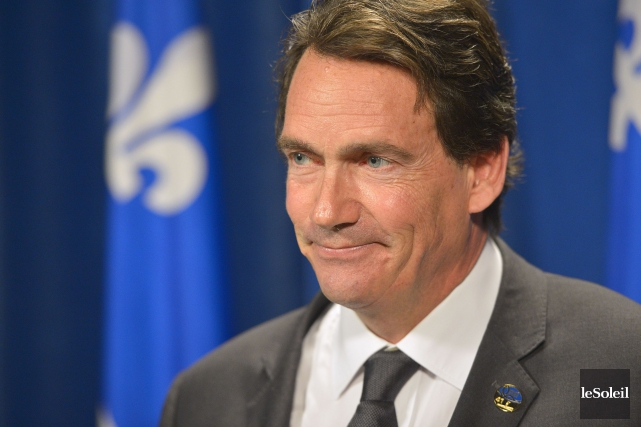 Pierre Karl Péladeau lancera officiellement sa campagne à... (PHOTO YAN DOUBLET, ARCHIVES LE SOLEIL)