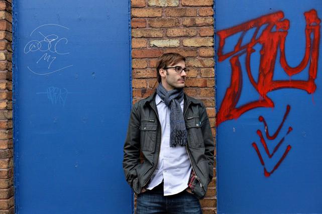 Jean-François Caissy a réalisé son documentaire La marche... (Le Soleil, Patrice Laroche)