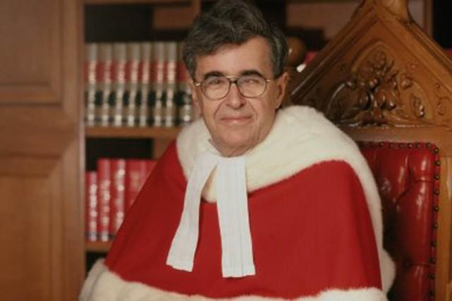Le juge Louis LeBel a siégé 15 ans... (Photo fournie par la Cour suprême)