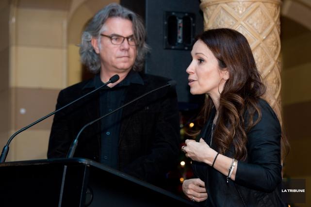 Richard Séguin et France Beaudoin sont les deux... (IMACOM, Jessica Garneau)