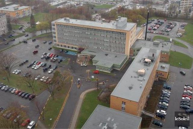 L'Hôpital Jeffery Hale, à Québec... (Photothèque Le Soleil, Jean-Marie Villeneuve)