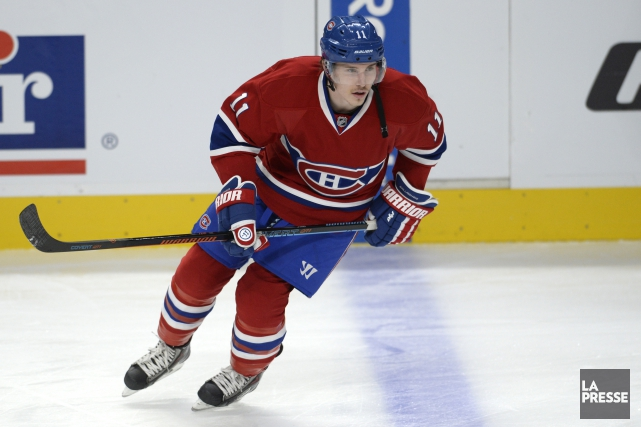 Brendan Gallagher... (Photo Bernard Brault, La Presse)