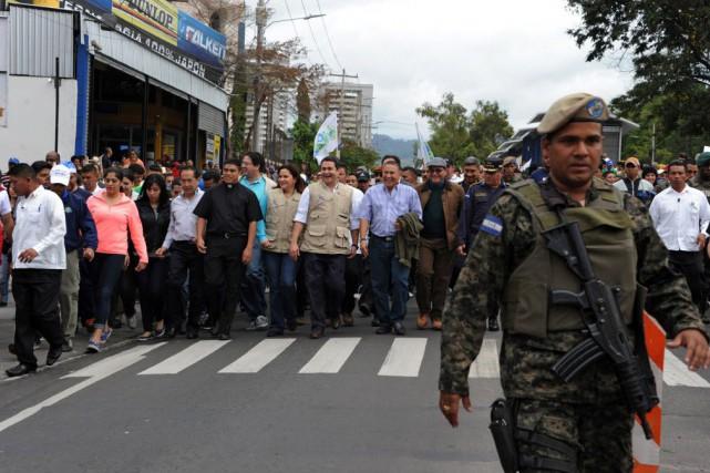 Le Honduras détient le record du monde des... (Photo Orlando SIERRA, AFP)