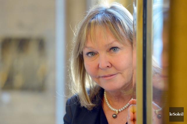 Nouvelle présidente de la Société royale du Canada... (Le Soleil, Yan Doublet)