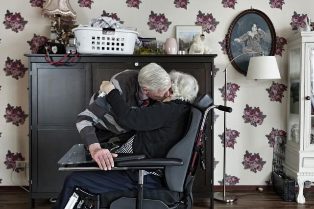 Les 152 habitants de Hogewey souffrent d'alzheimer ou... (PHOTO PAVEL PROKOPCHIK, ARCHIVES THE NEW YORK TIMES)