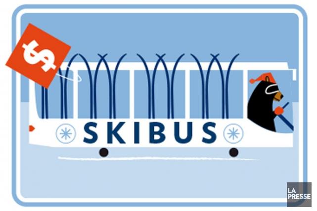 Skier futé pour ne pas trop payer? C'est possible, à condition de savoir où se... (ILLUSTRATION JULIEN CHUNG, LA PRESSE)