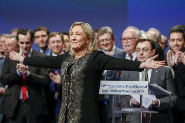 Marine Le Pen a entrepris depuis 2011 une... (Photo ROBERT PRATTA, REUTERS)