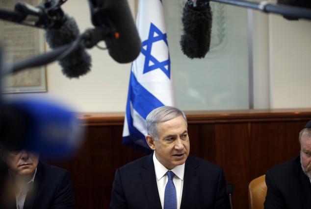 Le premier ministre israélien, Benyamin Nétanyahou... (Photo RONEN ZVULUN, Reuters)