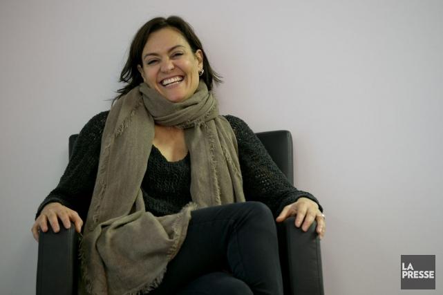 Brigitte Poupart sera la première femme à signer... (PHOTO DAVID BOILY, LA PRESSE)