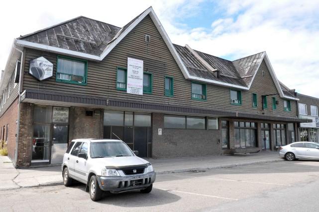 Saguenay veut acquérir l'immeuble où se trouve présentement... ((Archives))