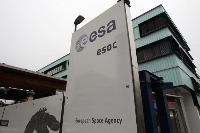 L'Agence spatiale européenne (ESA)est composée de l'Allemagne, l'Autriche,... (PHOTO DANIEL ROLAND, AFP)