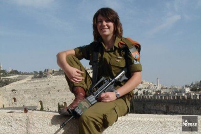 Selon une télévision israélienne, Gill Rosenberg, née au... (Photo tirée de Facebook)
