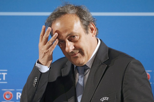 Michel Platini... (Archives AP)