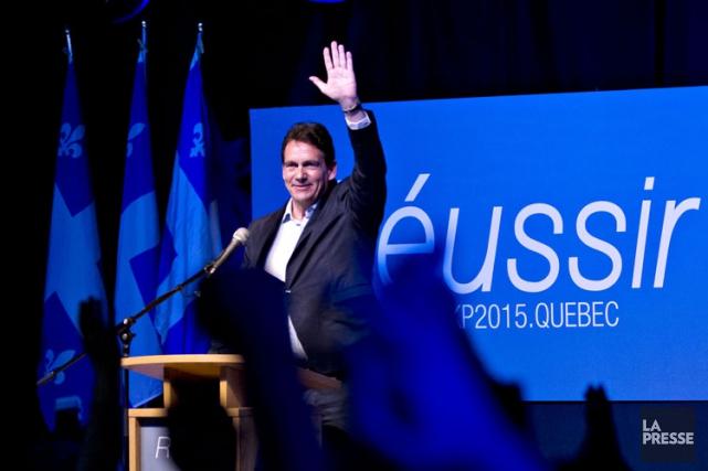 Pierre Karl Péladeau a annoncé qu'il se lançait... (Photo: Olivier Jean, La Presse)