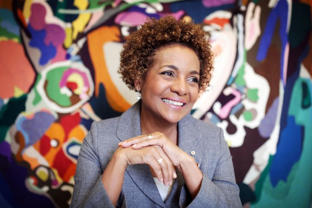 Michaëlle Jean.... (Photo AFP)