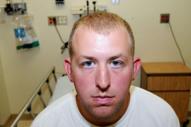 Darren Wilson, un policier âgé de 28 ans,... (PHOTO ARCHIVES AP)