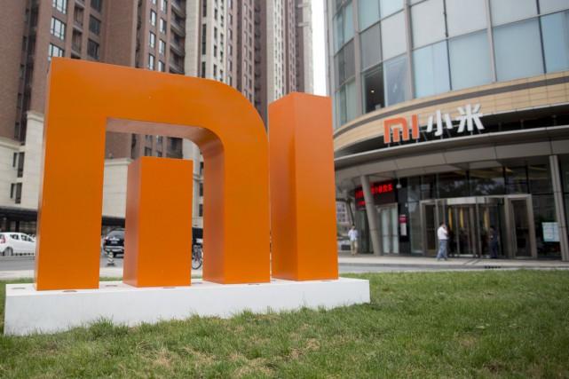 Le siège-social de Xiaomi à Pékin.... (PHOTO BRENT LEWIN, BLOOMBERG)