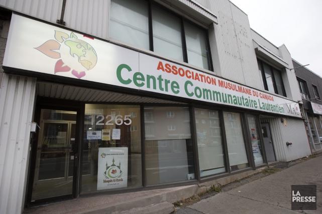 Le local de l'Association musulmane du Canada, sur... (PHOTO ROBERT SKINNER, LA PRESSE)