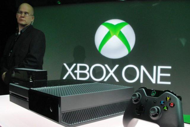 La console Xbox One.... (PHOTO GLENN CHAPMAN, ARCHIVES AFP)
