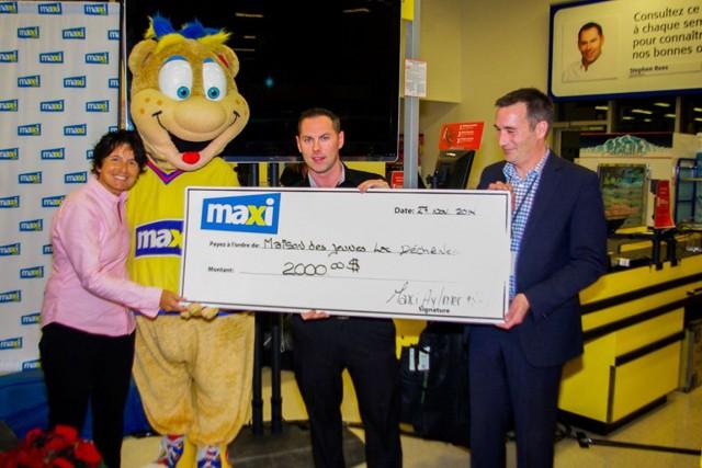 Un nouveau magasinMaxia ouvert ses portes jeudi dernier sur le chemin Vanier,... (Courtoisie)