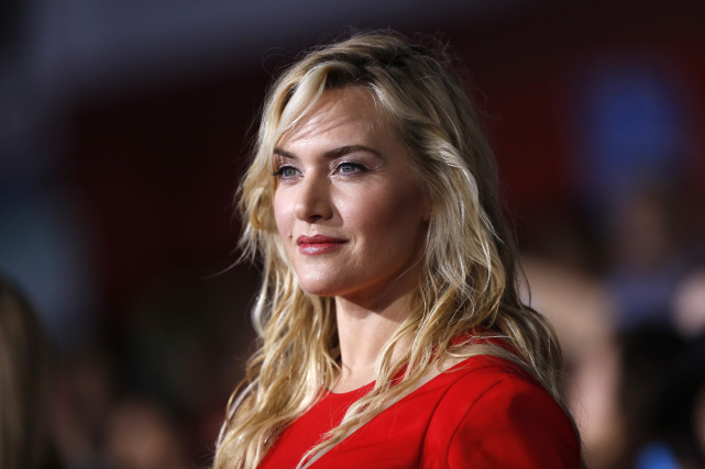 Kate Winslet, selon Paris Match, est une «ronde».... (PHOTO ARCHIVES REUTERS)