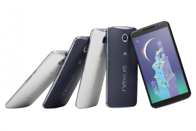 Le Nexus 6... (Photo fournie par Google)