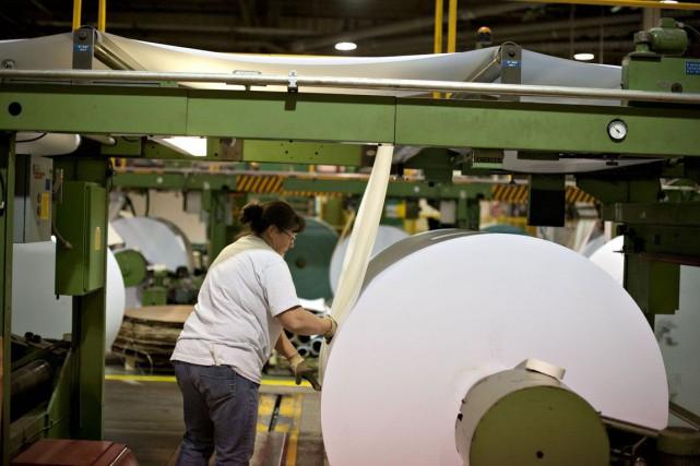 L'activité dans le secteur manufacturier aux États-Unis a continué à progresser... (PHOTO ARCHIVES BLOOMBERG)
