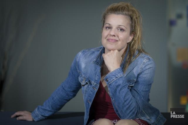 Sylvie Moreau déplore l'espace restreint laissé aux événements... (Photo: Édouard Plante-Fréchette, La Presse)