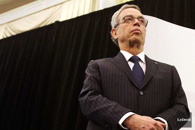 Le ministre fédéral des Finances, Joe Oliver.... (PHOTO ÉTIENNE RANGER, LEDROIT)