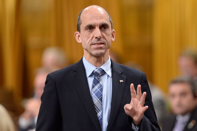 Le ministre de la Sécurité publique, Steven Blaney.... (Photo Adrian Wyld, archives PC)
