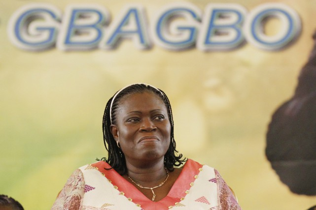 Simone Gbagbo à Abidjan, en janvier 2011.... (PHOTO REBECCA BLACKWELL, ARCHIVES AP)