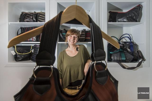 La créatrice sherbrookoise Anne Painchaud-Ouellet a décidé de... (Imacom, Jocelyn Riendeau)