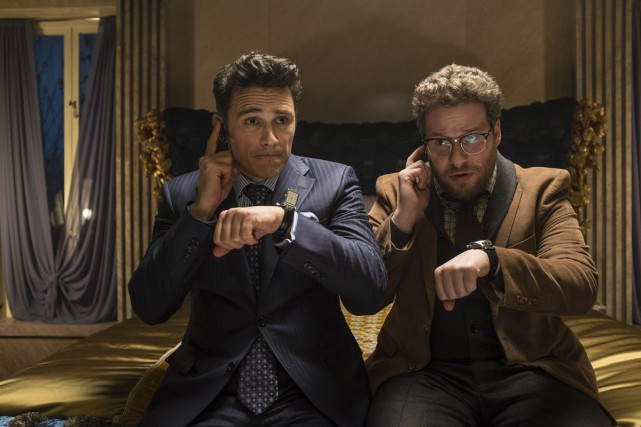 James Franco et Seth Rogen dans une scène... (Photo: Sony Pictures)