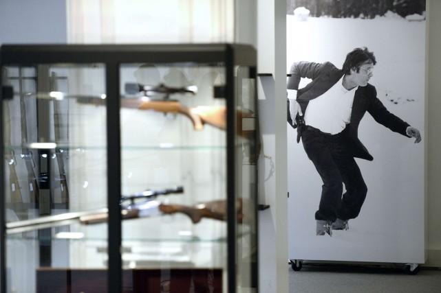 Flic ou voyou, Guépard ou Samouraï, l'acteur français Alain Delon s'est... (Photo: AFP)