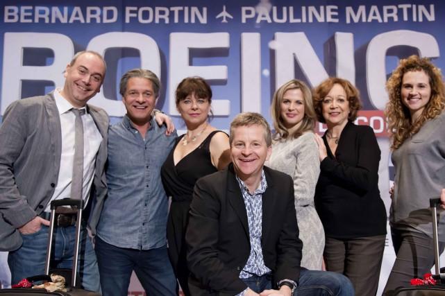 La pièce mettra en vedette Bernard Fortin, Pauline...