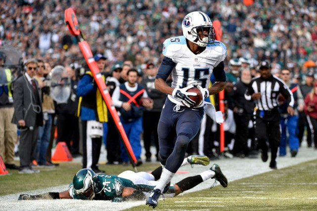Justin Hunter... (Photo Derik Hamilton, USA TODAY Sports)