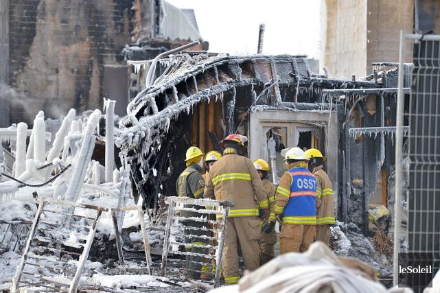 Les nouveaux postes de pompiers volontaires affichés depuis... (Photothèque Le Soleil, Yan Doublet)