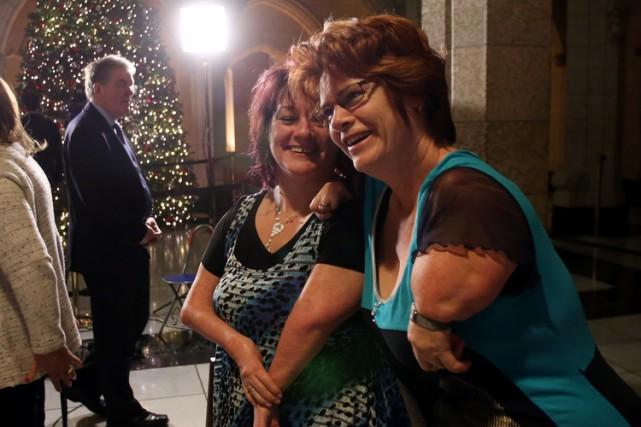 Les victimes de la thalidomide demandent un soutien... (Photo: PC)