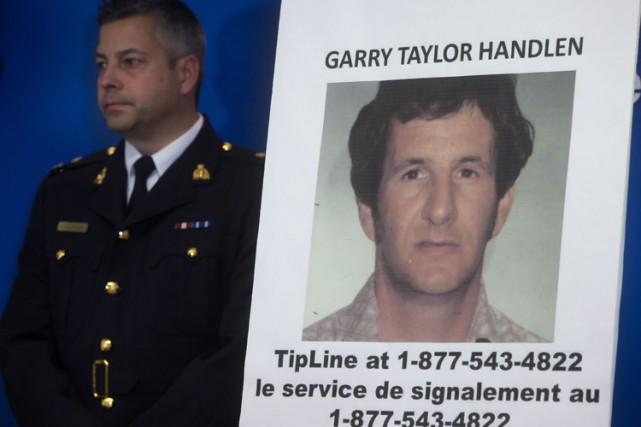 Des agents de la GRC ont arrêté Garry... (Photo: PC)