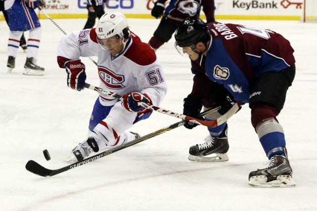 Relisez le clavardage du match entre le Canadien et l'Avalanche du Colorado... (Photo: AP)