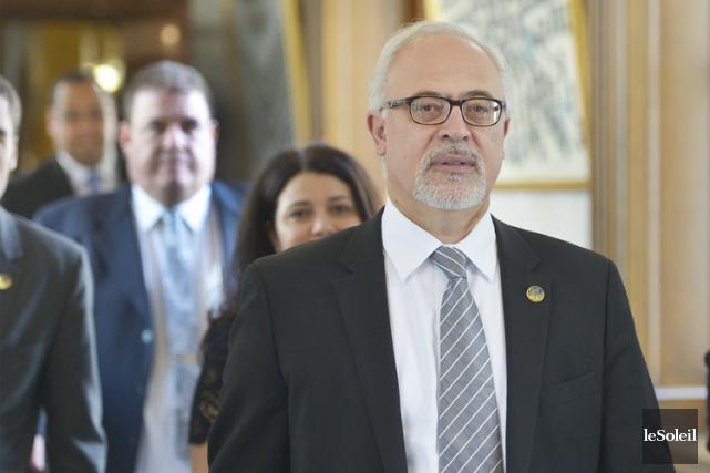 Le ministre des Finances, Carlos Leitao, veut que... (PHOTO JEAN-MARIE VILLENEUVE, ARCHIVES LE SOLEIL)