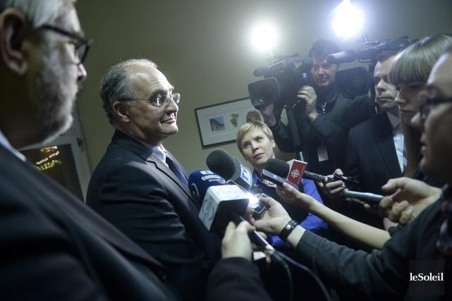 Le chef de l'opposition Paul Shoiry a promis... (Le Soleil, Jean-Marie Villeneuve)