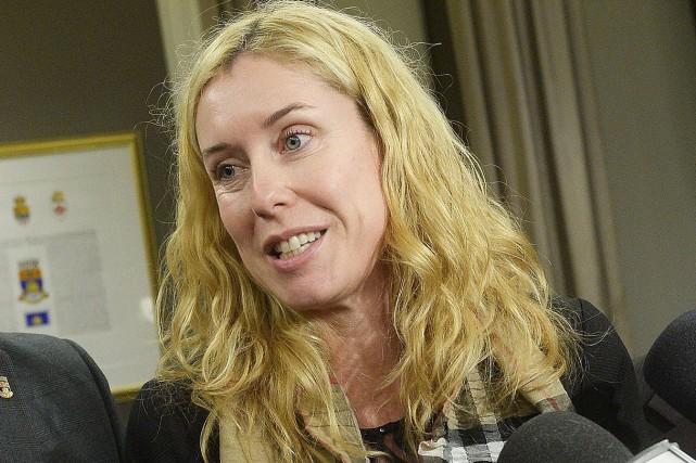 Julie Lemieux, l'élue reponsable de la culture à... (Photothèque Le Soleil, Jean-Marie Villeneuve)