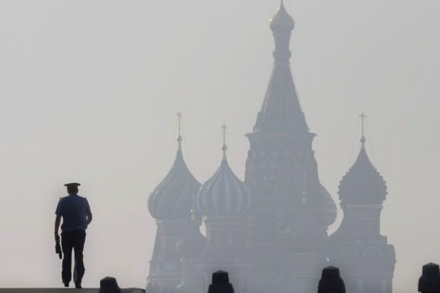 Le porte-parole du ministère, Alexander Lukashevich, a indiqué... (Photo Archives AFP)