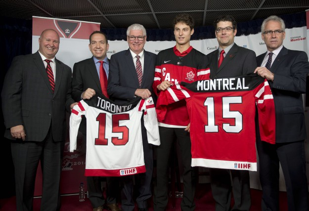 Benoit Groulx, Scott Salmond, Bruce Hamilton, Zachary Fucale,... (Photo: La Presse Canadienne)